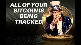 US Government tracking ALL Bitcoin is the MOST BULLISH NEWS EVER!