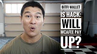 McAfee's Unhackable Crypto Wallet BitFi - Hacked - Bitcoin is the ONLY Winner!