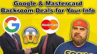 Google Buying Your Credit Card History | Banks Freezing Accounts