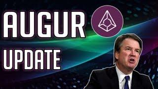 Augur Update + Controversial Markets | Cryptocurrency Predicts Kavanaugh  Hearing Outcome