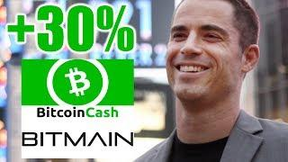 Why Bitcoin Cash is UP 30% - Daily Bitcoin and Cryptocurrency News