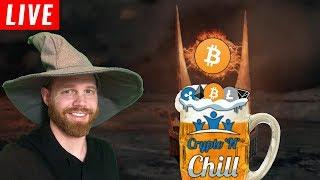 Charts'N'Chill Episode 120 - WIZARD Nightly Cryptocurrency Technical Analysis Learning