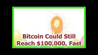 Today News - Bitcoin Could Still Reach $100,000, Fast