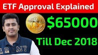 Bitcoin To $65000 - ETF Approval Explained !
