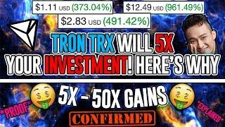 Tron (TRX) Expected to 5X Your Investment!? *ACTUAL PROOF* MUST SEE VIDEO! TRX 2018 Price Prediction