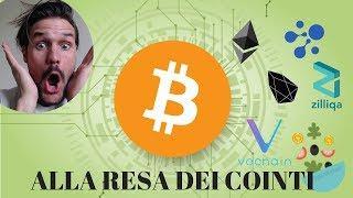 Bitcoin alla Resa dei Cointi...
