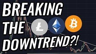 Bitcoin And Crypto Markets Breaking Out Of The Downtrend? BTC, ETH, BCH, LTC & Cryptocurrency News!