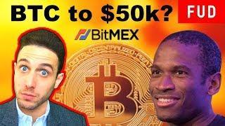 $50k Bitcoin in 2018? BitMex's Arthur Hayes Prediction Explained