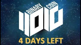 BINARY COIN UPDATE!! PLATFORM LAUNCHES IN 4 DAYS!! VERONEUM ICO SELLING OUT FAST!