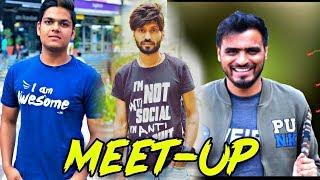 Amit Bhadana 1st *Meet-up* | Technical Dost & Prince Chandra Cryptocurrency | Gourvzone meet Urvashi