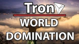 Tron (TRX) Is Taking Over The World & Giveaway In Video!