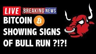 Is Bitcoin (BTC) Showing Signs of a Bull Run?! - Crypto Trading & Cryptocurrency Price News