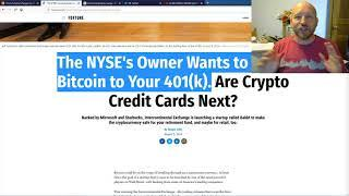 XRP/Ripple: New Liquidity Solution For XRP? NYSE Owner Getting Into BITCOIN/CRYPTO This Fall!