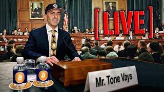 If Tone Vays Was in Front of Agriculture Crypto Hearings July 18, 2018