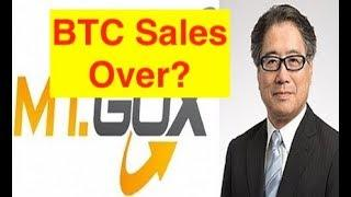 "Bitcoin Bottom? MtGox Trustee says ""No More BTC Sales!"" (Bix Weir)"