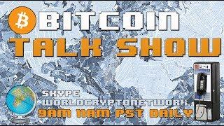 Monday Morning Bitcoin Talk Show #LIVE (can't stop, won't stop)