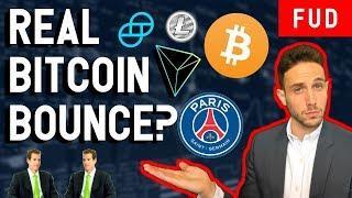 BITCOIN BOUNCES? Vitalik vs. Justin Sun, Winklevoss Stablecoin, Litecoin Summit, Crypto News