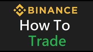 How to use Binance Exchange 2018