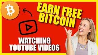 Earn FREE Bitcoin (BTC) Watching ANY Youtube Video  - New Bitcoin Faucet