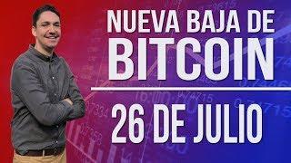 ¿NUEVA CAIDA DEL BITCOIN ? / ANALISIS 26 DE JULIO
