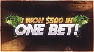 36EYES BETTING ► INSANE 500$ PROFIT IN ONE BET  | Bitcoin Gambling VGO?
