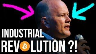 Bitcoin Will Drive Next Industrial Revolution?