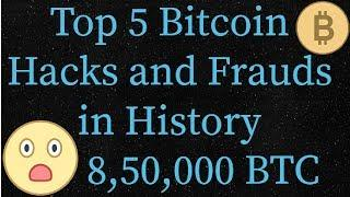 Top 5 Bitcoin Hacks and Frauds in History | Tech Mission HIndi