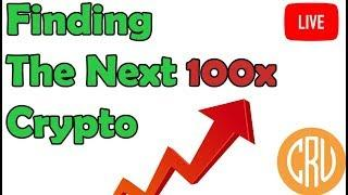 LIVE - Finding the next 100x Crypto