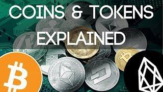 Cryptocurrency Coins & Tokens | Whats the Difference??