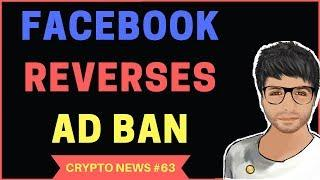 Facebook Reverses Crypto Ad Ban, Bitcoin Secret Key, Huobi Japan - Crypto News Hindi #63