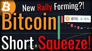 Bitcoin Short Squeeze Jumps Bitcoin 6% In 6 Minutes! I Called It?
