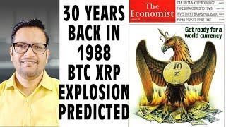 1988 The Economist Magazine Predicted Bitcoin & XRP Price Explosion & A New World Currency in 2018