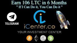 iCenter.co - Earning 106 LTC in 6 Months