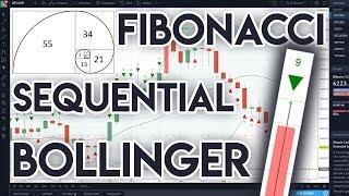 TA & Bitcoin Trading Nr.3 - Fibonacci, Bollinger Bands, Sequential TD