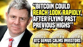"""Bitcoin Could REACH 100K RAPIDLY, After Flying Past Previous Highs"" - BTC Genius Calms Investors"