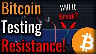 Bitcoin Sets Up For Bullish Breakout - Will It Happen?