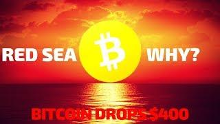 Why Bitcoin Dropped $400! - Today's Crypto News