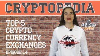 TOP 5 CRYPTOCURRENCY EXCHANGES