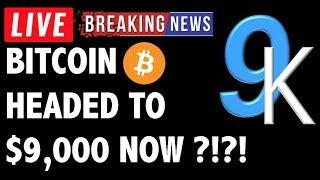 Here's Why Bitcoin (BTC) May Be Headed to 9K! - Crypto Analysis & Cryptocurrency News