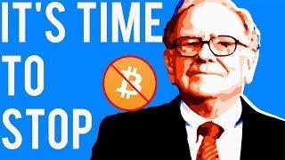 Bitcoin News: STOP LISTENING TO WARREN BUFFETT