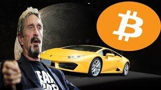 Crypto News - This Week In Bitcoin McAfee's Bullish Prediction And A Guy Living In His Car