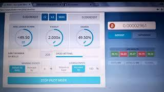 Free earning BTC (Bitcoin) from Bitsler 100% Work, Work from Home Part time job or work