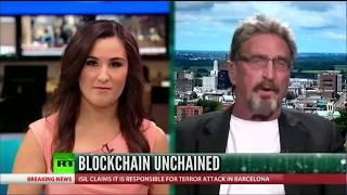 John McAfee Explains Bitcoin - NOT A BUBBLE!