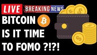 Is It Time to FOMO Buy Bitcoin (BTC)?! - Crypto Trading Price Analysis & Cryptocurrency News
