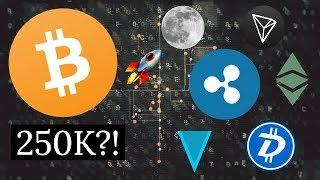 BITCOIN TO 250K?! Cryptocurrency Future Predictions 2019 And 2020 (BTC, DGB, ETH, XRP)