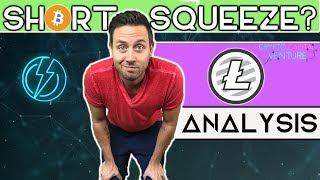 Bitcoin Short Squeeze? Will Litecoin Support Hold?