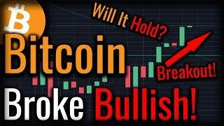 Bitcoin Just Confirmed The Rally! - Bull Run Coming Soon?