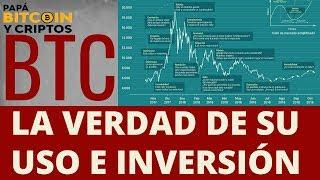 #BITCOIN La Verdad Como INVERSIÓN y USO 2018