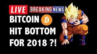 CRYPTO: BITCOIN BOTTOM 2018?! CRYPTOCURRENCY,LITECOIN,ETHEREUM,XRP RIPPLE,TRON TRX,ADA,EOS,BTC NEWS