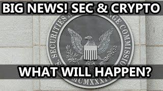"BIG News On The SEC and Cryptocurrency | ""Crypto Czar"" 